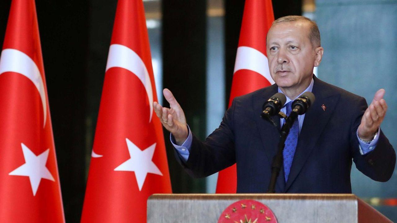 Le président turc, Recep Tayip Erdogan, multiplie les discours publics, ou les tweets pour dénoncer le comportement des Etats-Unis
