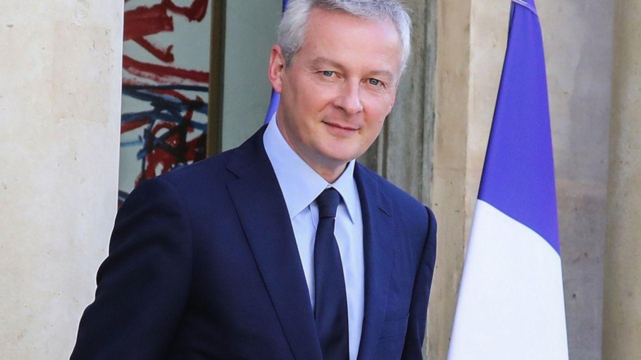 Le ministre de l'Economie Bruno Le Maire milite pour que la loi Pacte passe comme prévu en septembre au Palais-Bourbon. AFP PHOTO / LUDOVIC MARIN / ALTERNATIVE CROP