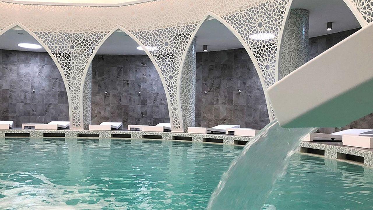 Le complexe deMoulay Yacoub au Maroc a ouvert en juin.
