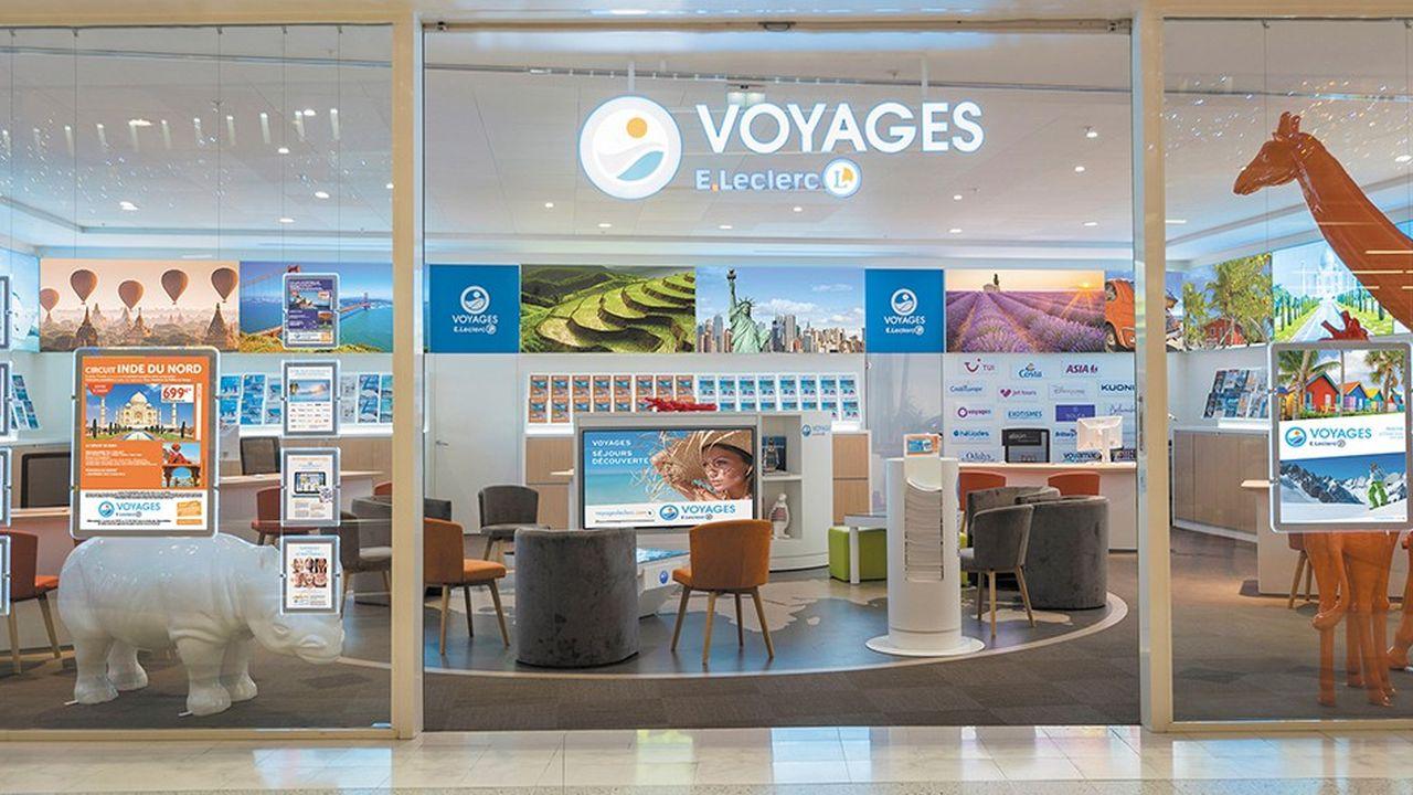 Le réseau d'agences Voyages E.Leclerc continue d'enregistrer une activité record. Son volume d'affaires devrait avoisiner les 600millions d'euros en 2018.