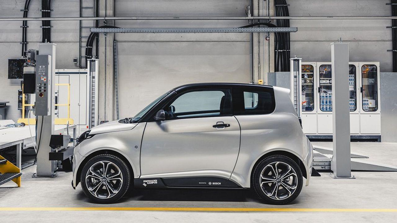 e.GO Mobile a enregistré 3.200précommandes pour sa petite voiture électrique e.GO Life, dont les livraisons démarreront en fin d'année.