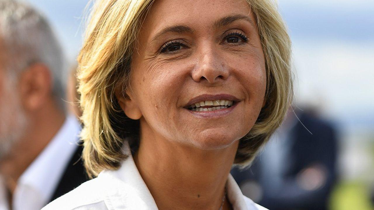 Valérie Pécresse a lancé le mouvement Libres! en septembre2017 à Argenteuil, dans le Val-d'Oise.