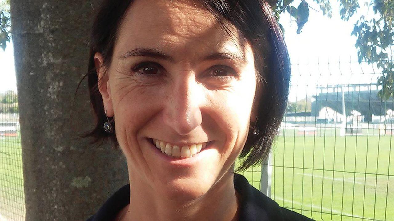 Sophie Coste, directrice exécutive de Provale, l'Union des joueurs et des joueuses de rugby professionnels.