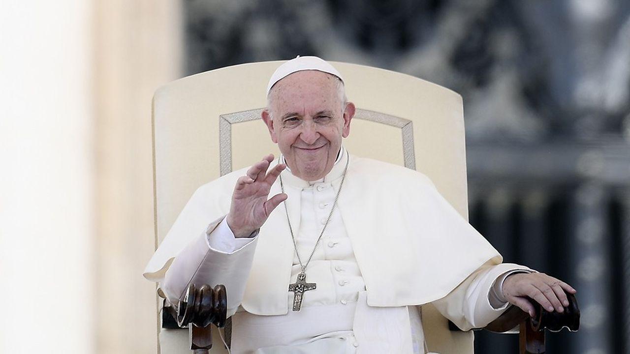 Le pape François s'est rendu en Irlande ce week-end.