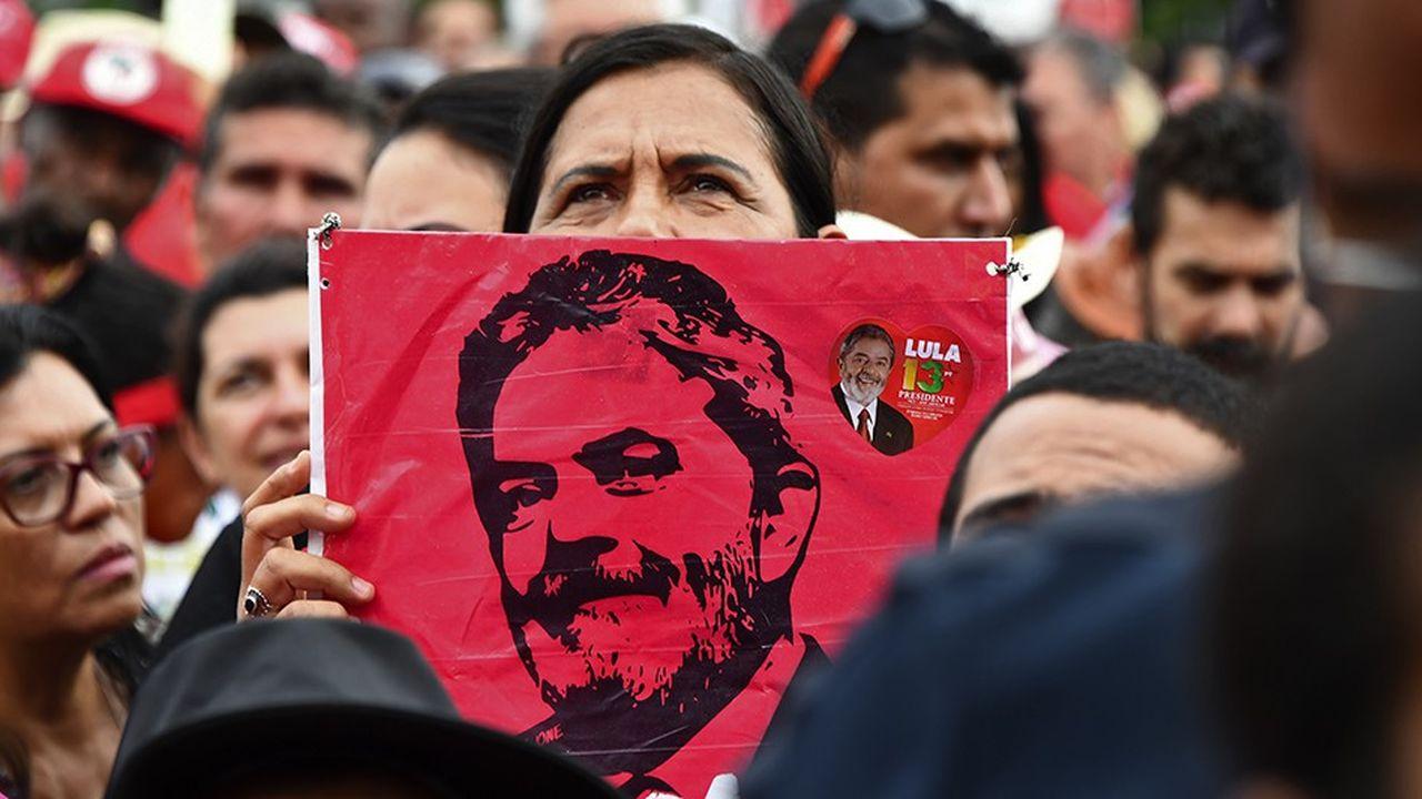 L'hypothèse d'une candidature Lula à la présidentielle brésilienne agit comme un épouvantail pour les marchés