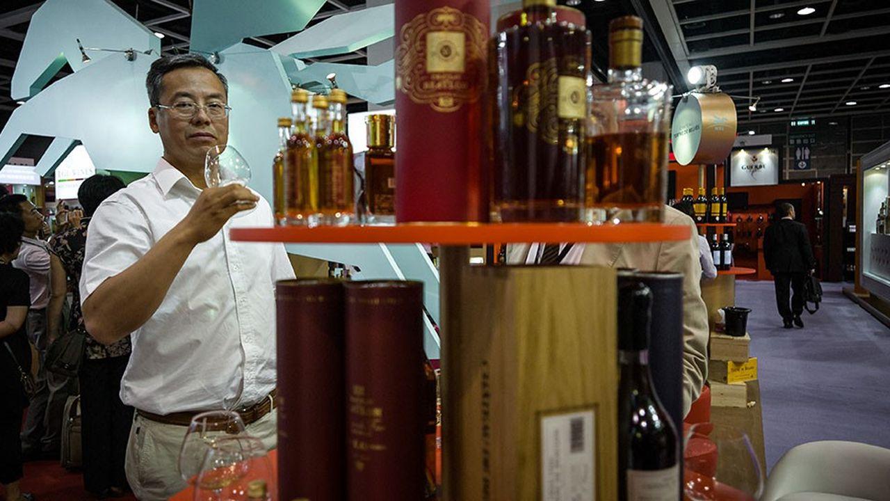 Pernod Ricard a confirmé son leadershipen Chine, avec 44% des volumes de cognac commercialisés au cours de l'exercice 2017-2018.