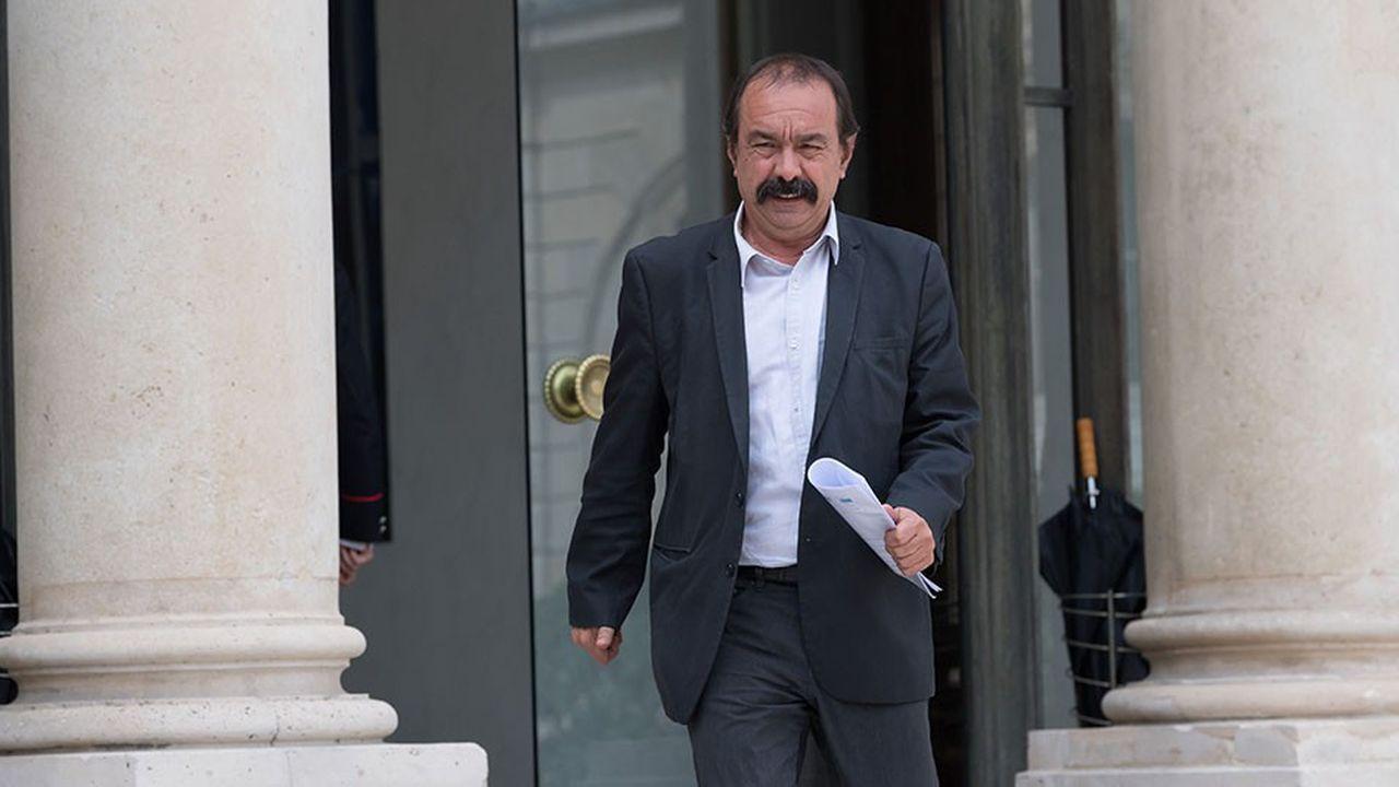 Philippe Martinez (CGT) a été ce mercredi le premier leader syndical à être reçu par Edouard Philippe à Matignon.