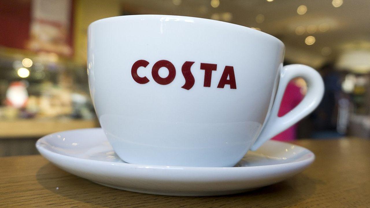 Quand Whitbread a acheté Costa, la chaîne comptait 39 magasins. Elle a aujourd'hui 2.400 points de vente au Royaume Uniet 1.400 magasins à l'international.
