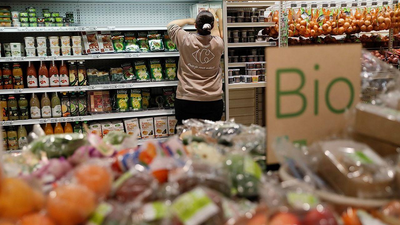 Le bio fait partie des engagements de Carrefour en faveur de la transition alimentaire.