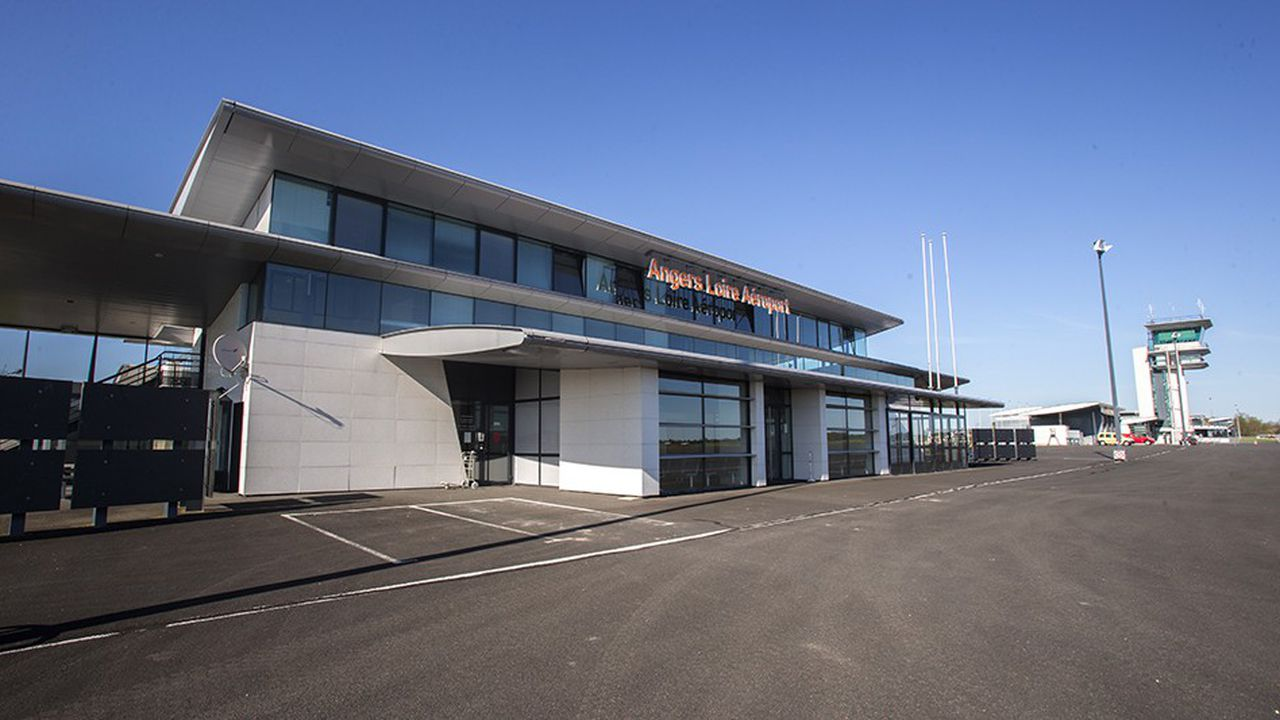 Aéroport d'Angers.