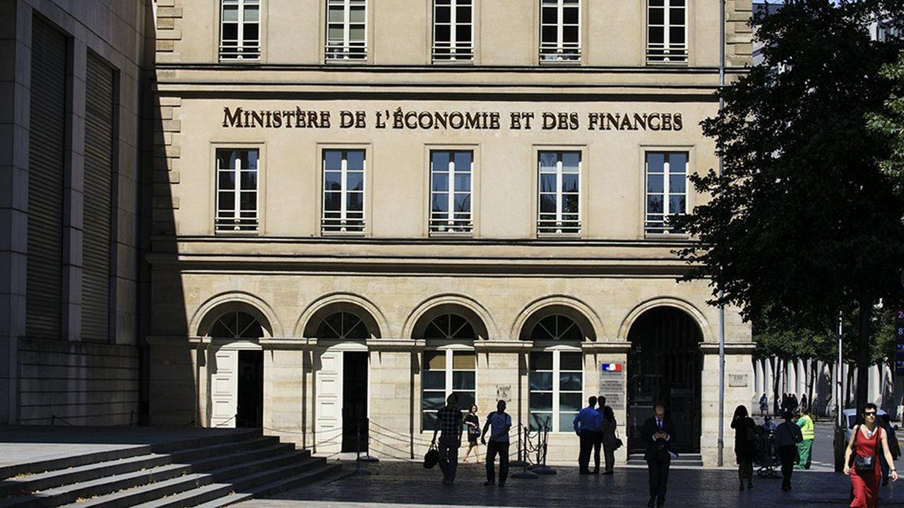 Le ministère de l'Economie et des Finances, à Bercy.