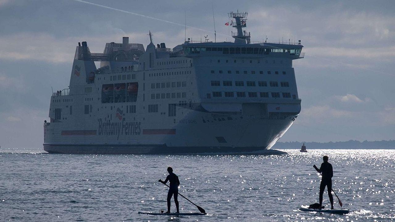 En quarante ans, les bateaux du français Brittanny Ferries se sont imposés dans le paysage maritime, en mer d'Irlande et en Manche.
