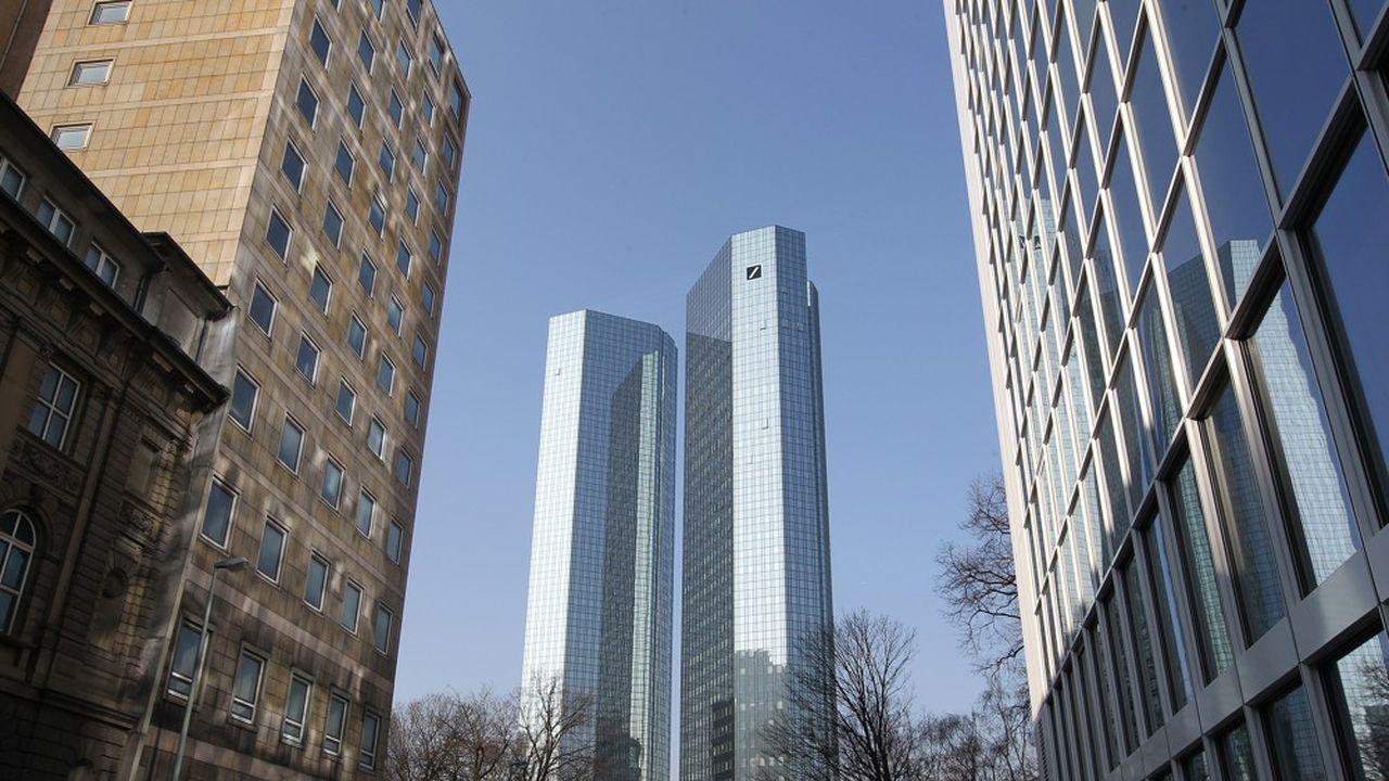 Le fleuron allemand Deutsche Bank quittera le 24septembre l'indice EuroStoxx des principales valeurs de la zone euro.