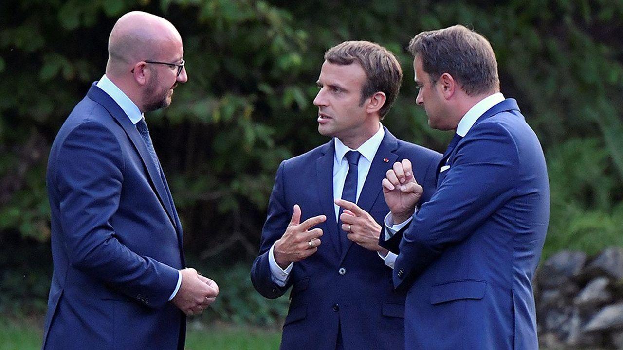 Le président Macron rencontrera jeudi au Château de Bourglinster au Luxembourg les dirigeants du Benelux, le Luxembourgeois Wavier Bettel, le Belge Charges Michel et le Néerlandais Mark Rutte.