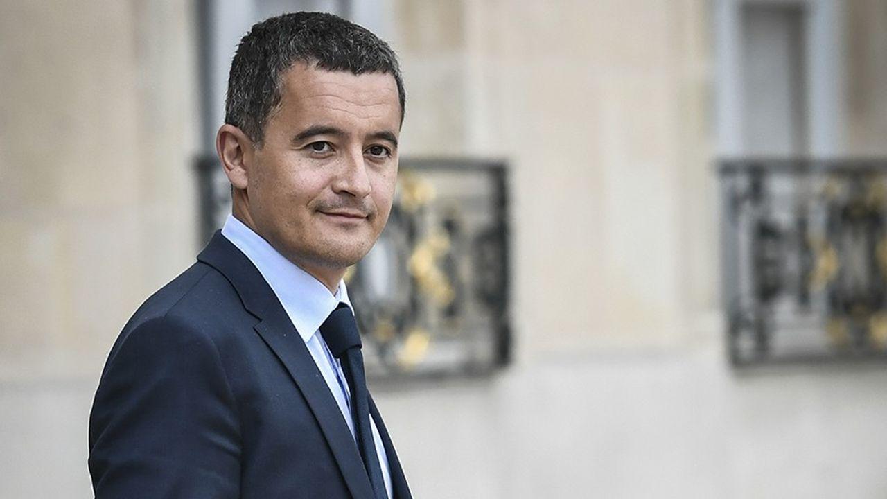 En déplacement jeudi à Chaumont, le ministre des Comptes publics, Gérald Darmanin a défendu le prélèvement à la source auprès de patrons de PME.