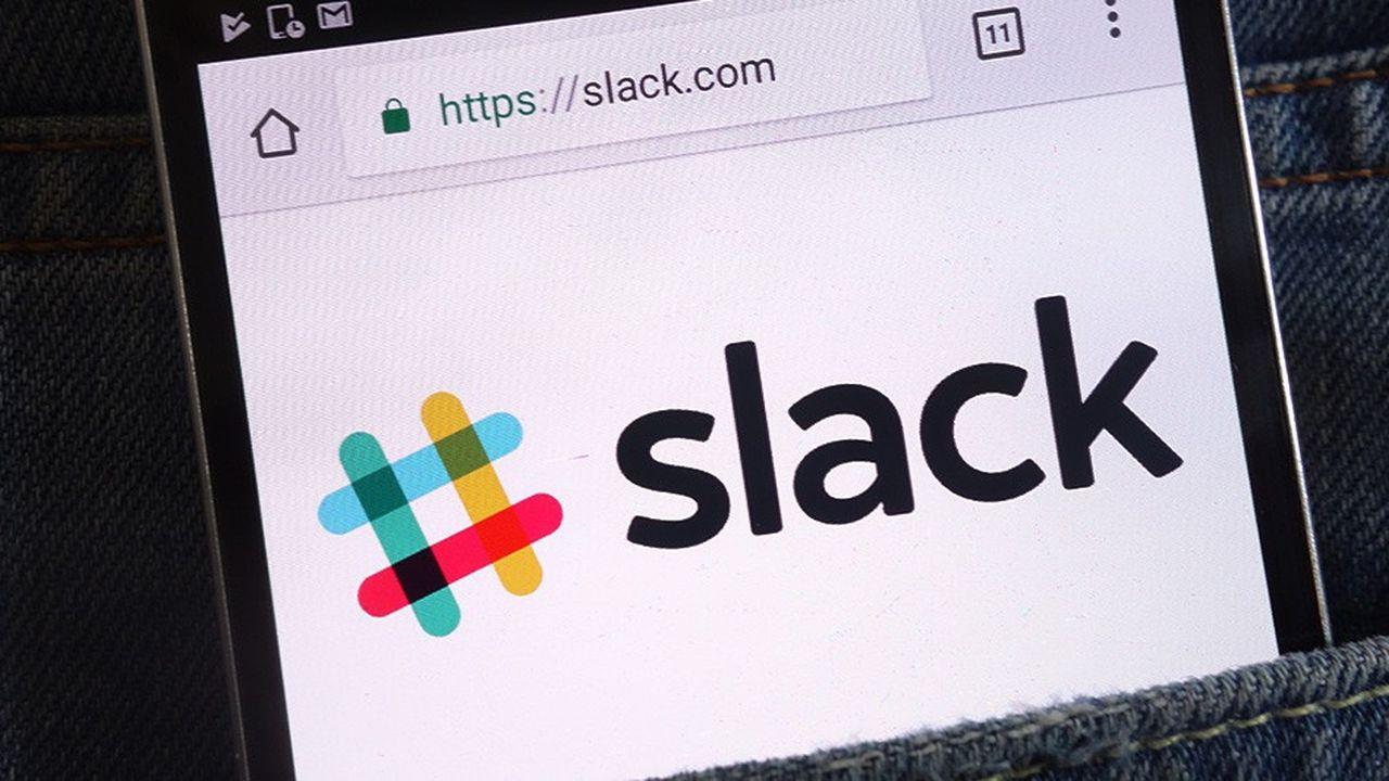 Lancé en2014, Slack est aujourd'hui valorisé à plus de 7milliards de dollars.