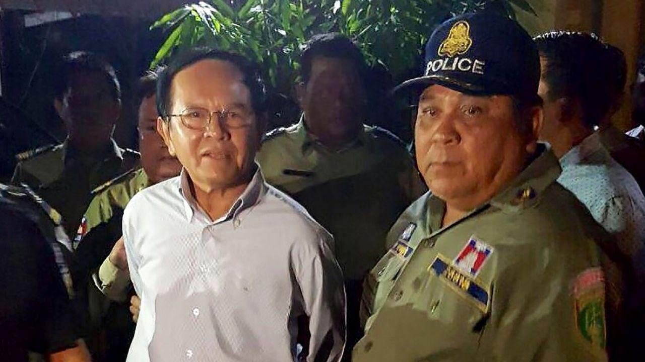 Kem Sokha avait été arrêté en septembre2017