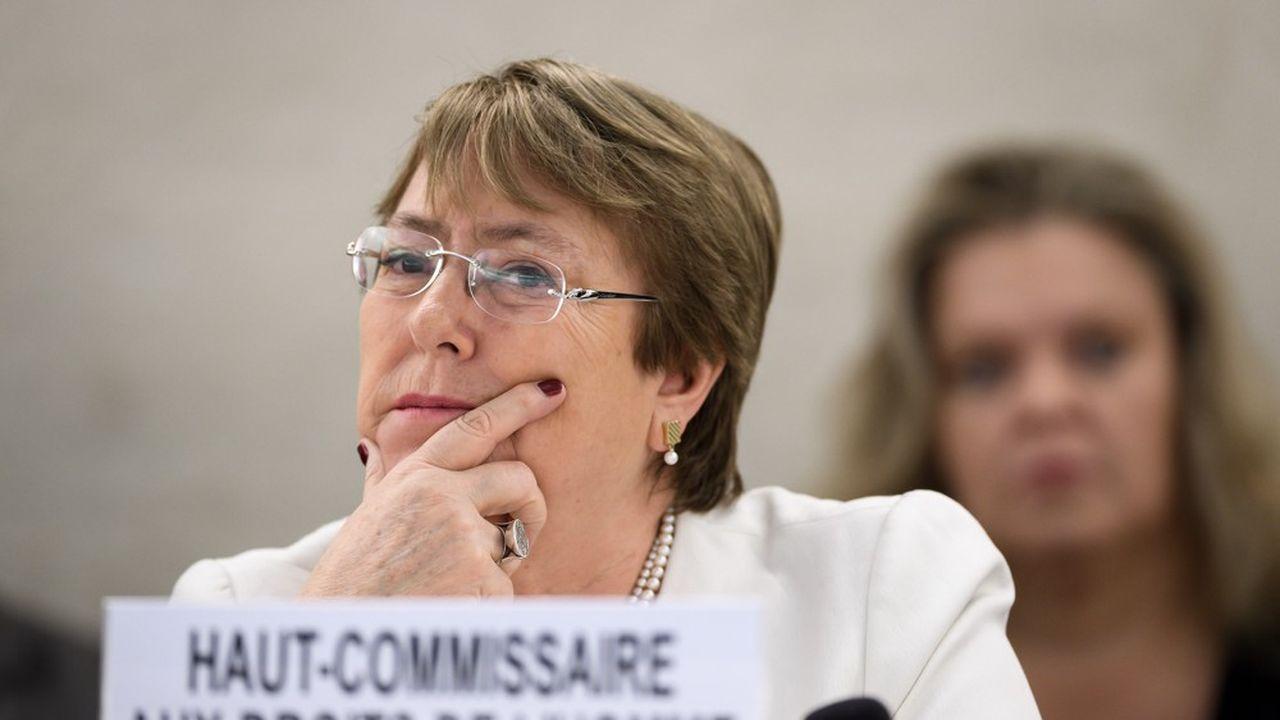 Dans son premier discours comme Haut-Commissaire de l'ONU aux droits de l'homme l'ancienne présidente du Chili Michelle Bachelet a vertement critiqué l'Italie et l'Autriche pour leur «politique raciste».