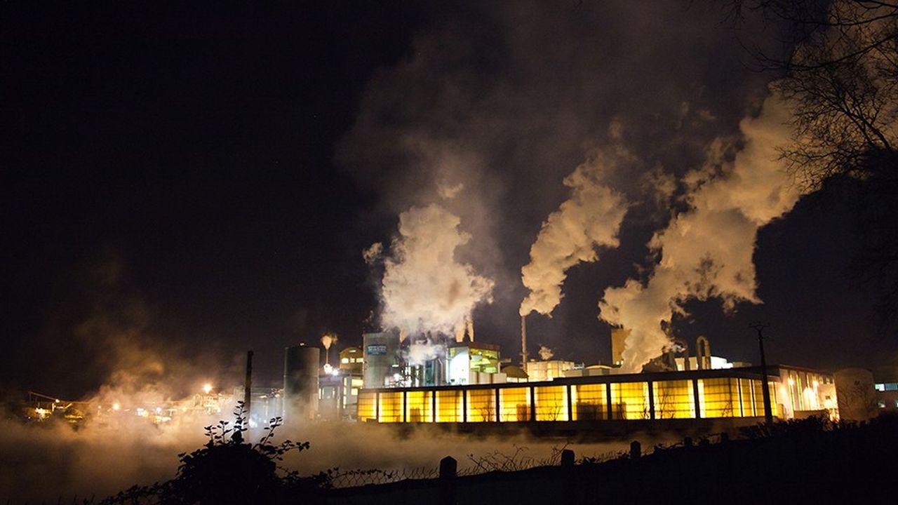 Usine de Tartas. AFP PHOTO LOIC VENANCE / AFP PHOTO / LOIC VENANCE