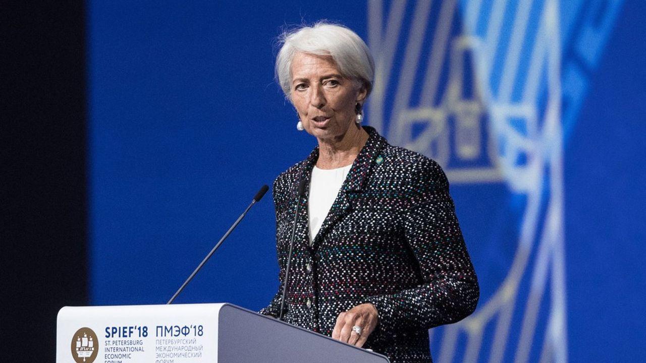 Christine Lagarde dit vouloir se concentrer sur son travail à la tête du Fonds monétaire international