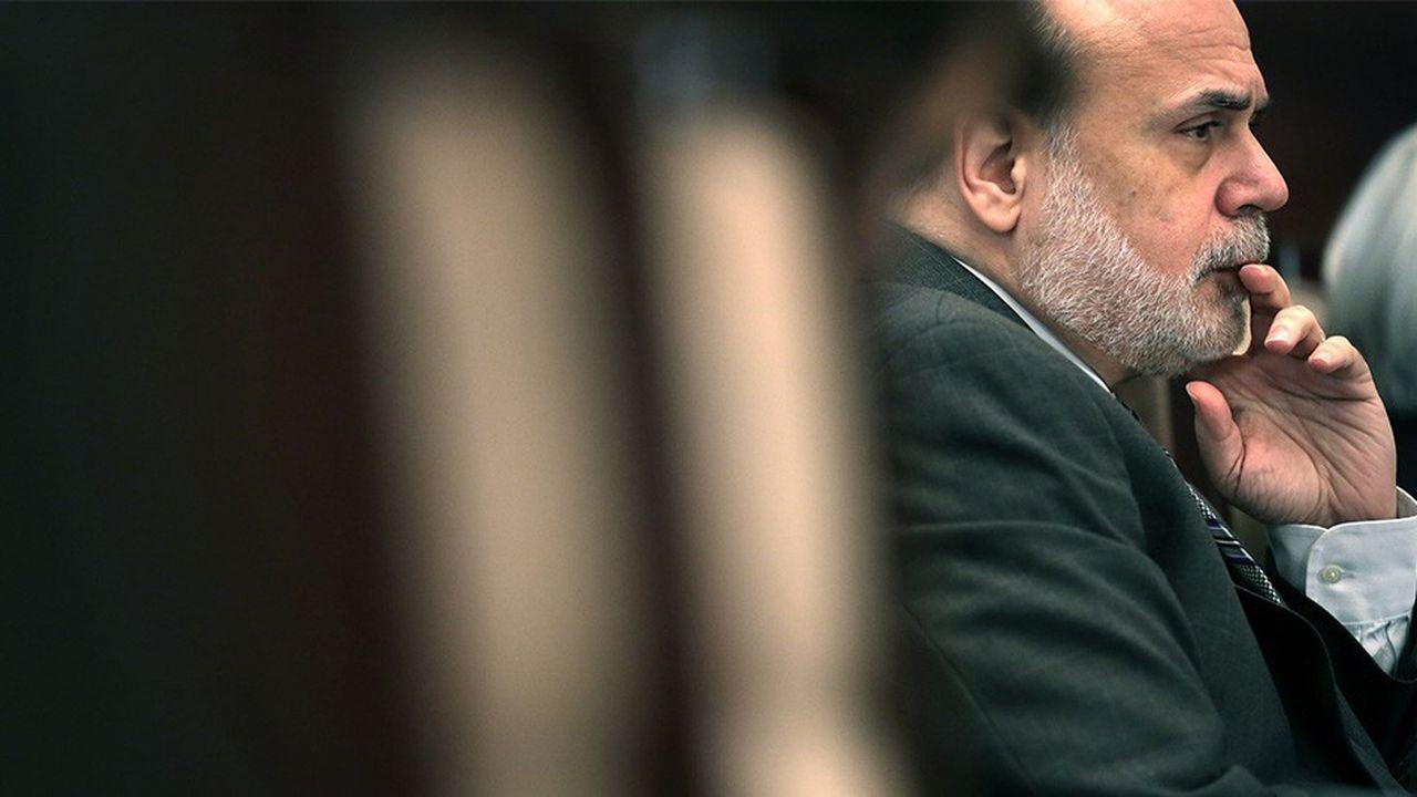 Ben Bernanke, l'ancien président de la Fed. Alex Wong/Getty Images/AFP