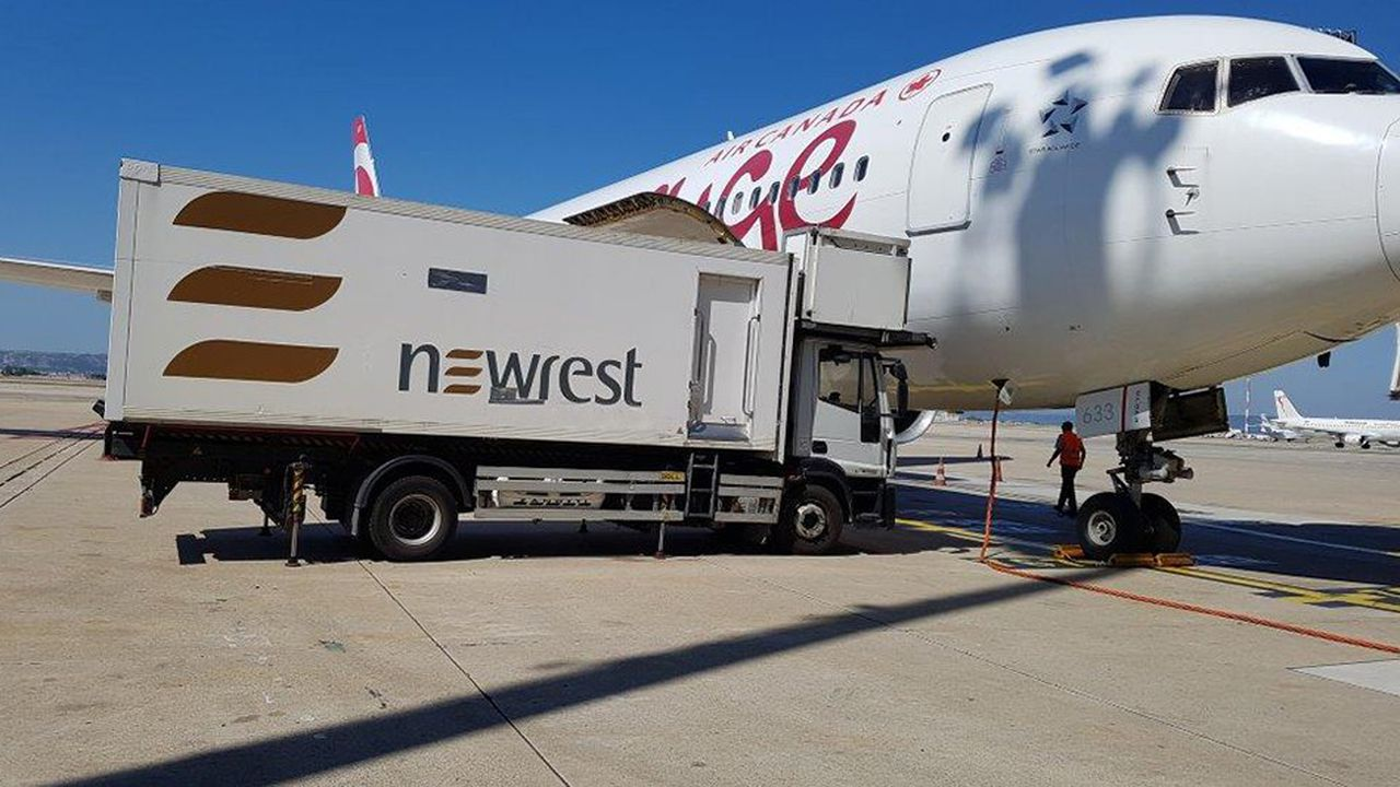 Le catering aérien pèse près de la moitié du chiffre d'affaires de Newrest.
