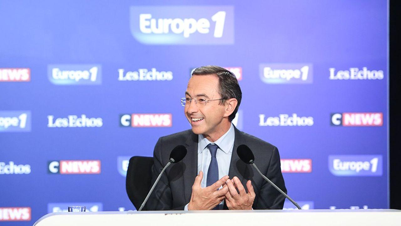 Bruno Retailleau, président du groupe Les Républicains au Sénat, était l'invité dimanche du «Grand Rendez-Vous».