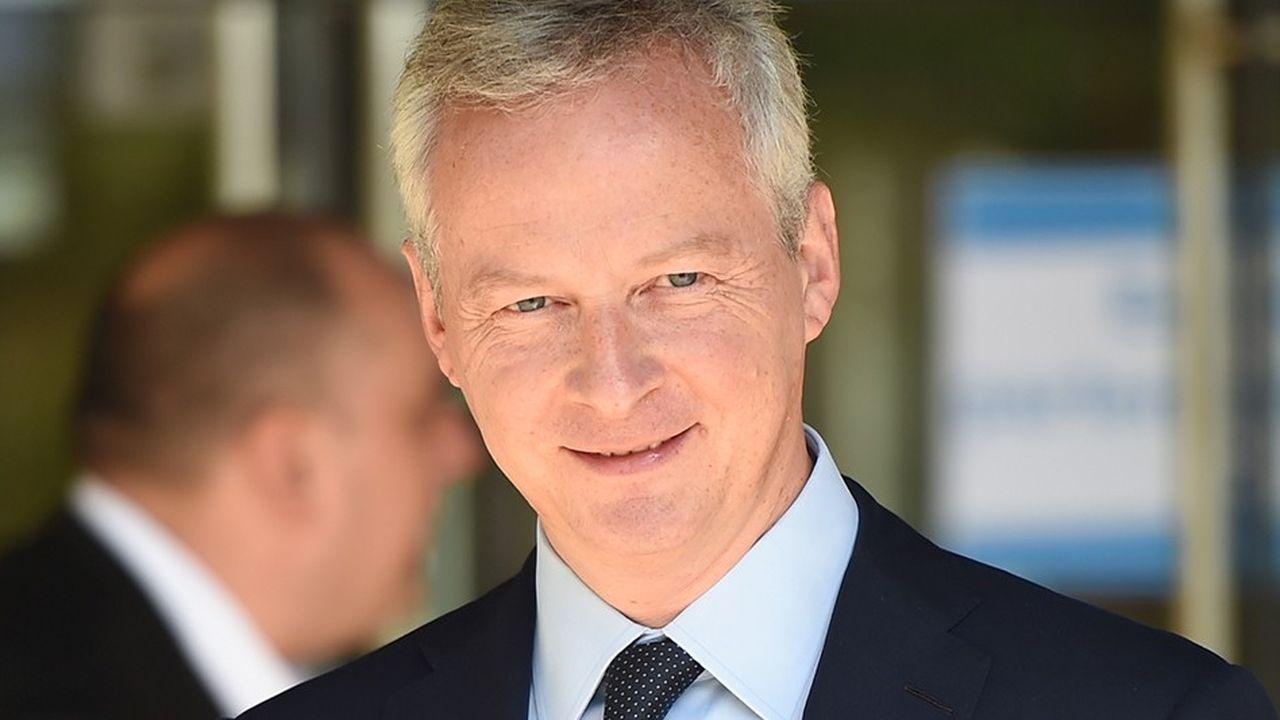 Le ministre de l'Economie Bruno Le Maire a assisté à la quasi-intégralité des débats sur le projet de loi Pacte en commission.