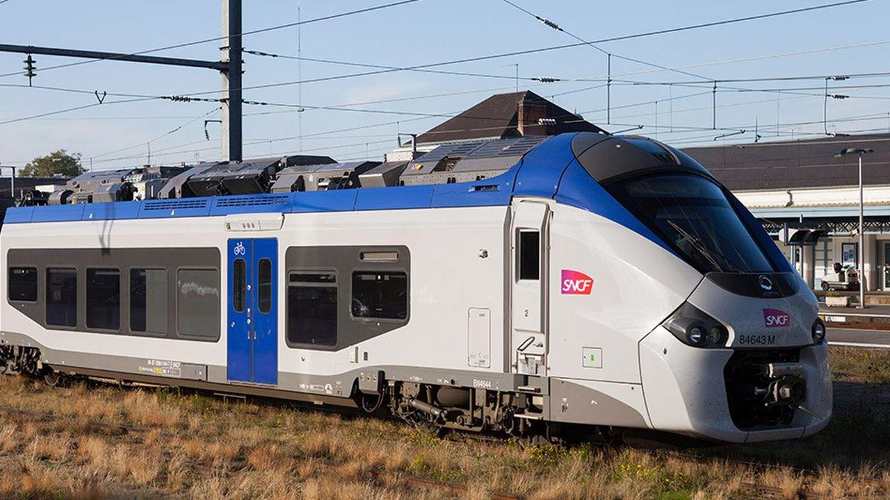 Des trains régionaux Regiolis (photo), mais hybrides, pourraient circuler dès 2022