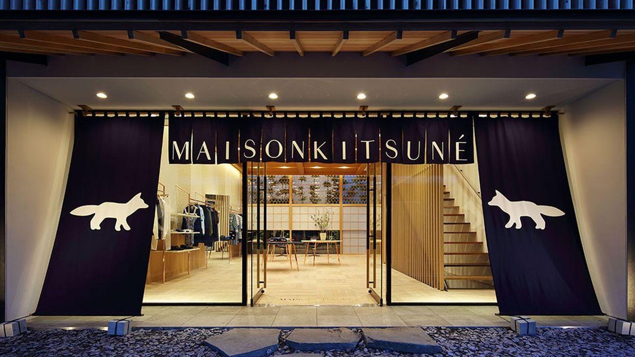 le Japon est le premier marché à l'export de la marque, qui y a connu ses premiers succès.