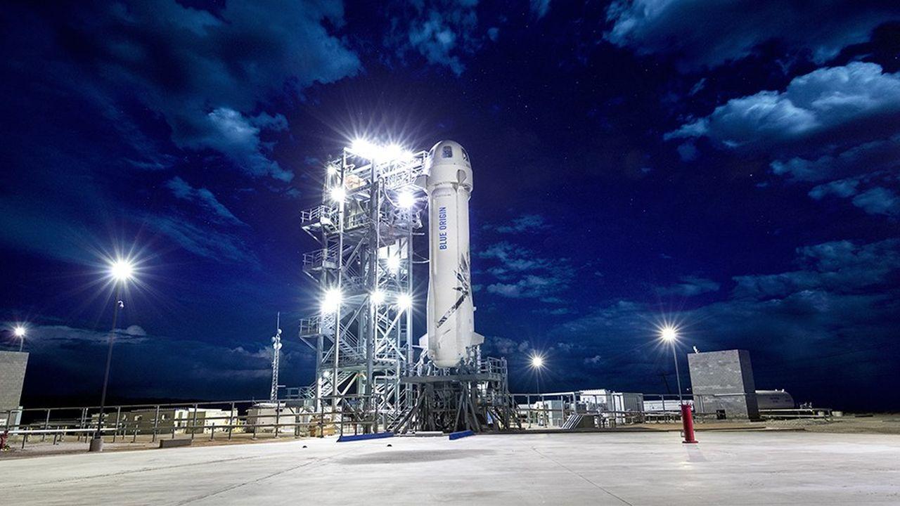 Les premiers passagers de la fusée New Shepard seraient des salariés de Blue Origin, à la fin 2019.