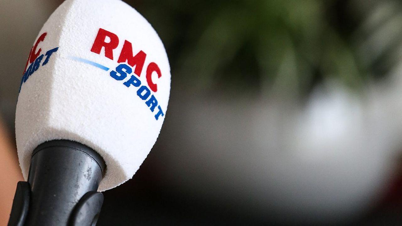 Medias, radio, micro RMC Sport