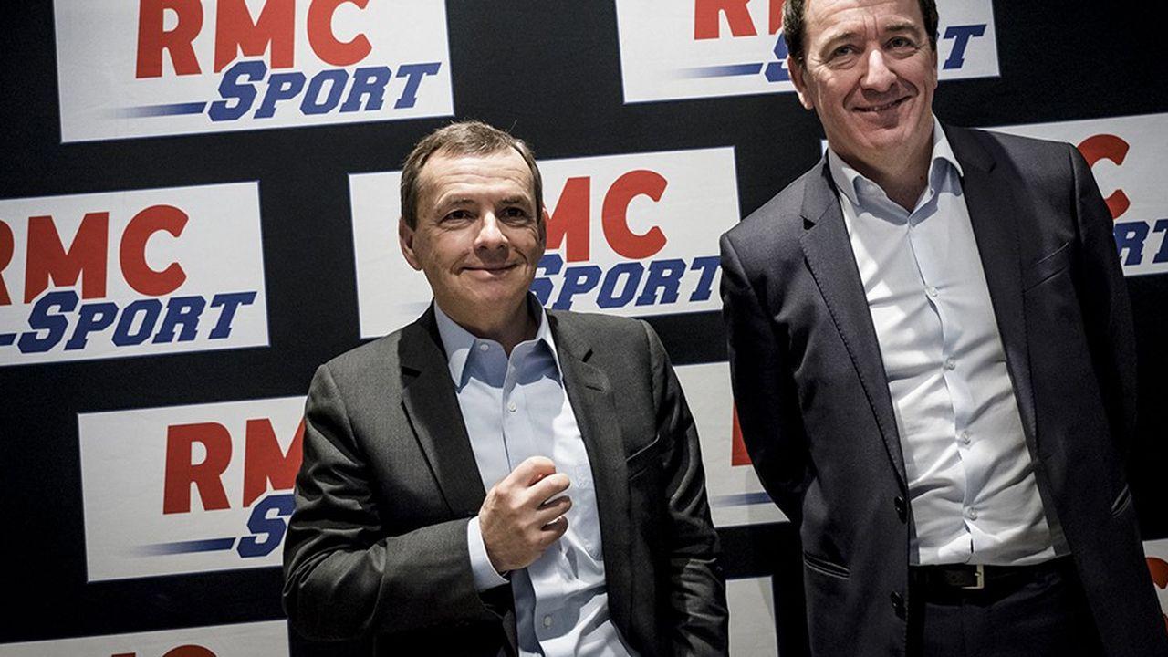 Alain Weill (à gauche sur la photo) est le PDG d'Altice Europe, la maison mère de SFR.