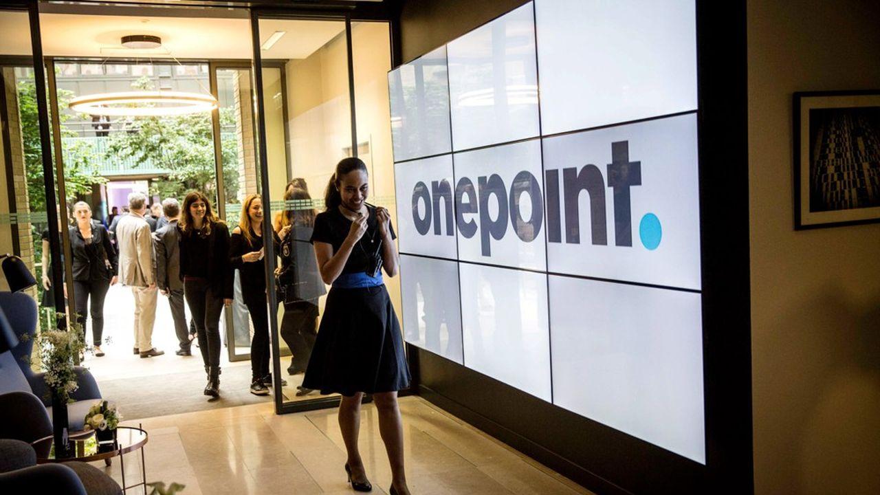 Onepoint (ici son siège à Paris) et Weave entendent faire émerger un acteur d'un type nouveau, mixant conseil métier, design thinking, data et technologie.