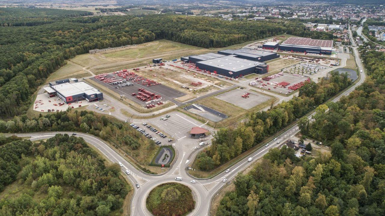 Situé à Monswiller, le projet devrait créer jusqu'à 160 emplois.