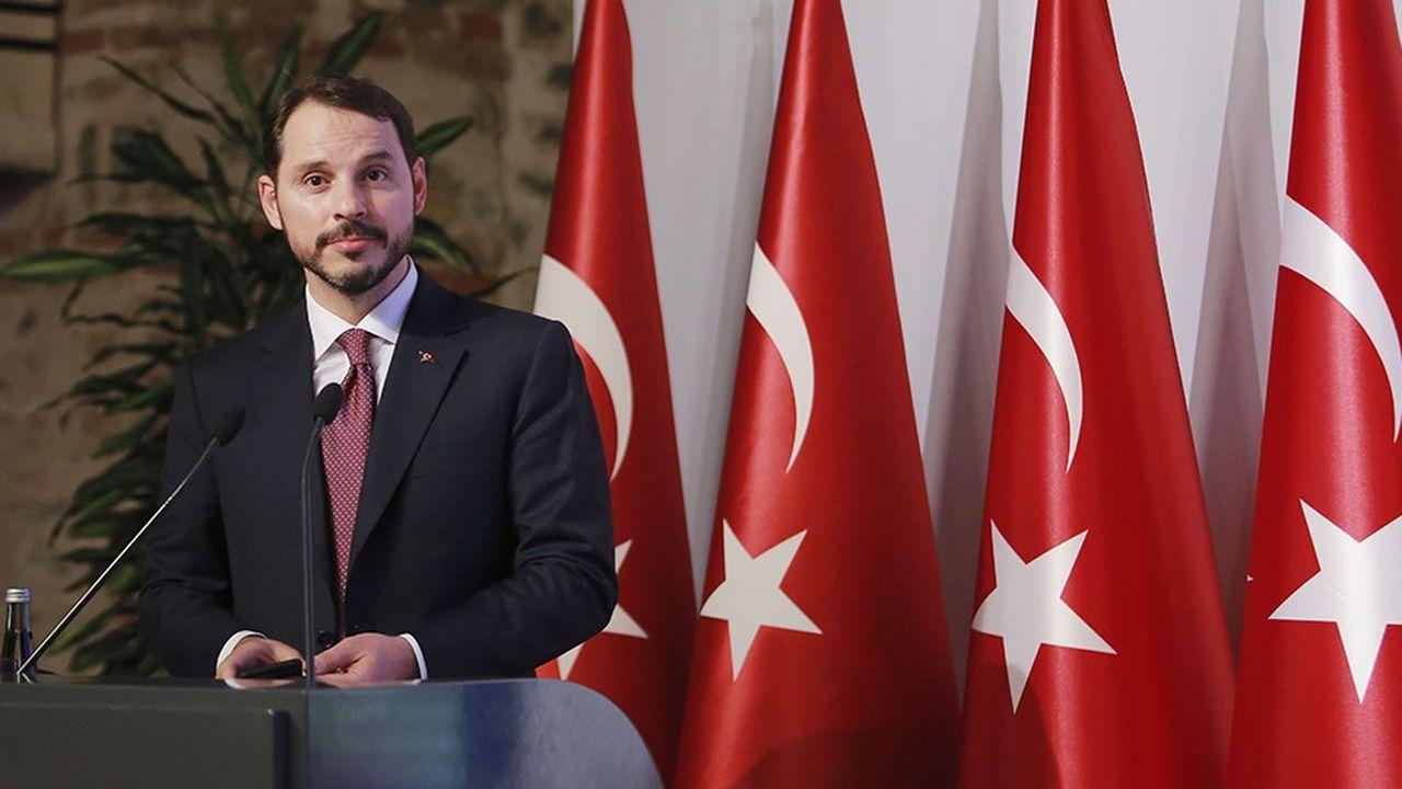 L'objectif de la visite de Berat Albayrak à Berlin était d'obtenir le soutien de l'Allemagne alors que la Turquie a besoin de rassurer les investisseurs internationaux.