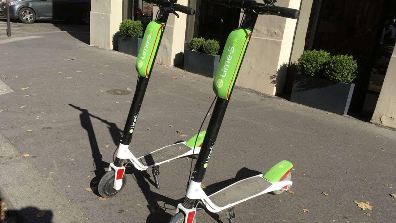 Ces engins peuvent aller jusqu'à 25km/h sur les pistes cyclables.