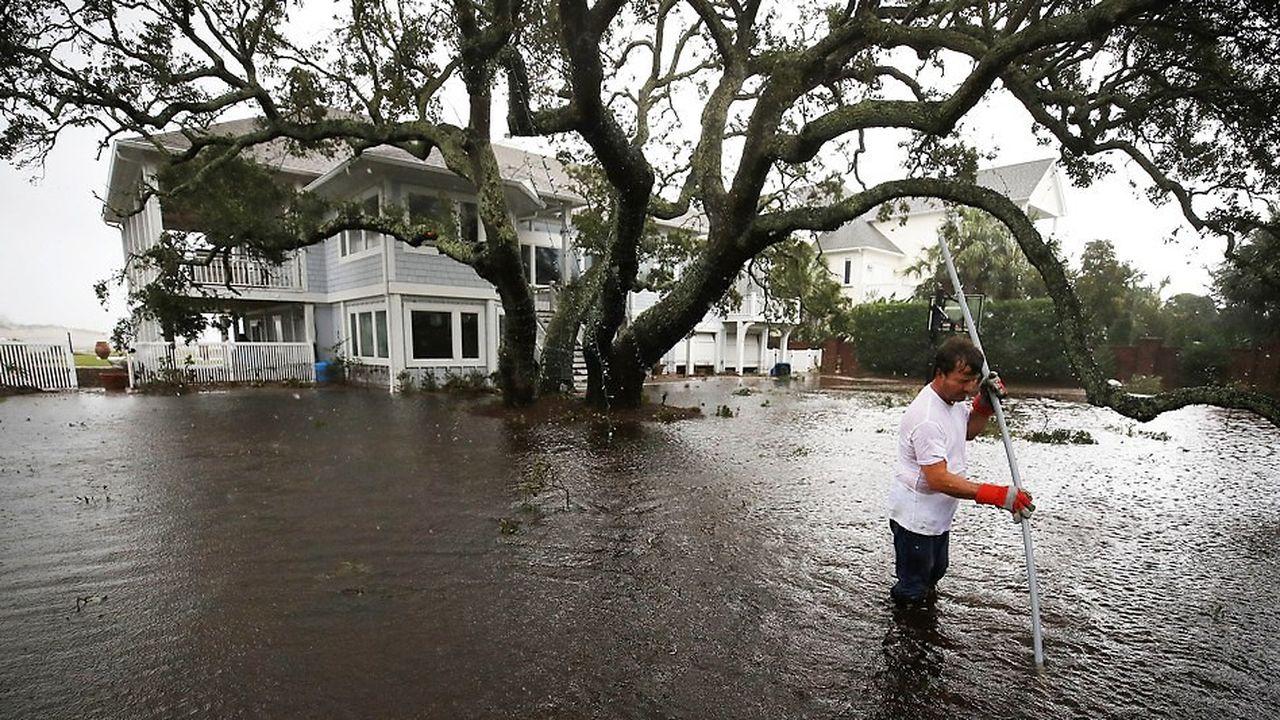 L'ouragan Florence submerge la côte Est américaine depuis dix jours