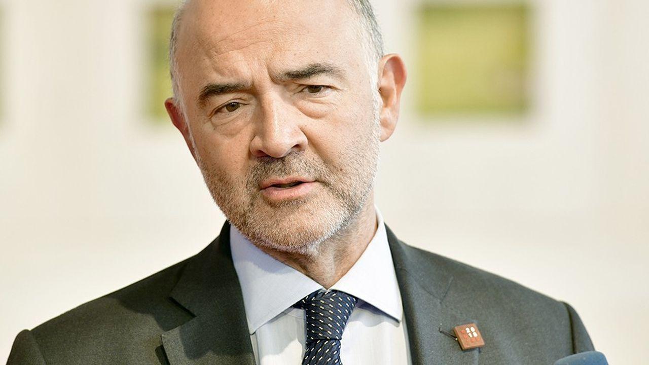 Pierre Moscovici, commissaire aux Affaires économiques, salue «les efforts» déployés par les Etats mais juge la perte inacceptable