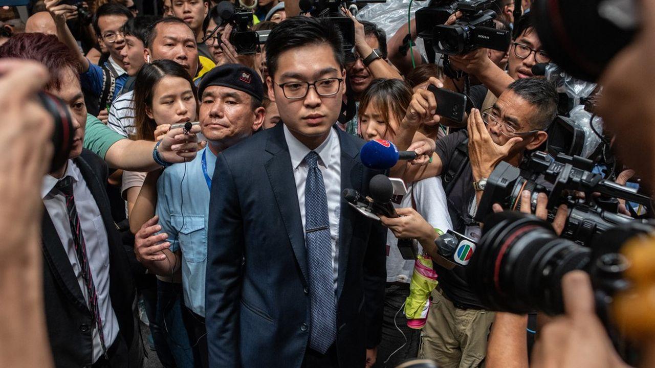 Le chef de file du Parti national de Hong Kong, Andy Chan (photo), s'est refusé à faire dans l'immédiat des commentaires sur cette interdiction