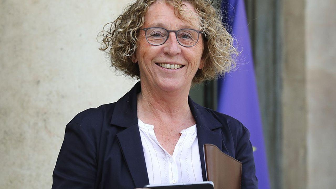 La ministre du Travail, Muriel Pénicaud