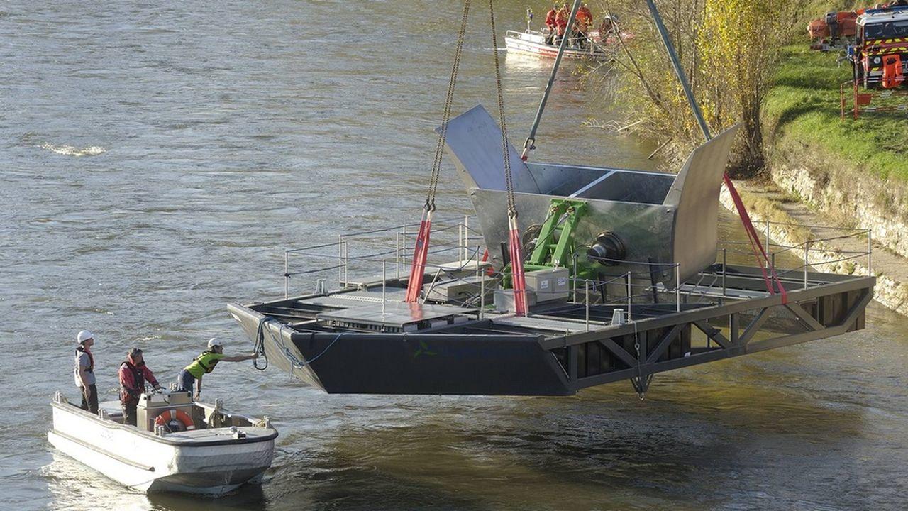 Un vaste projet hydrolien sur le Rhône