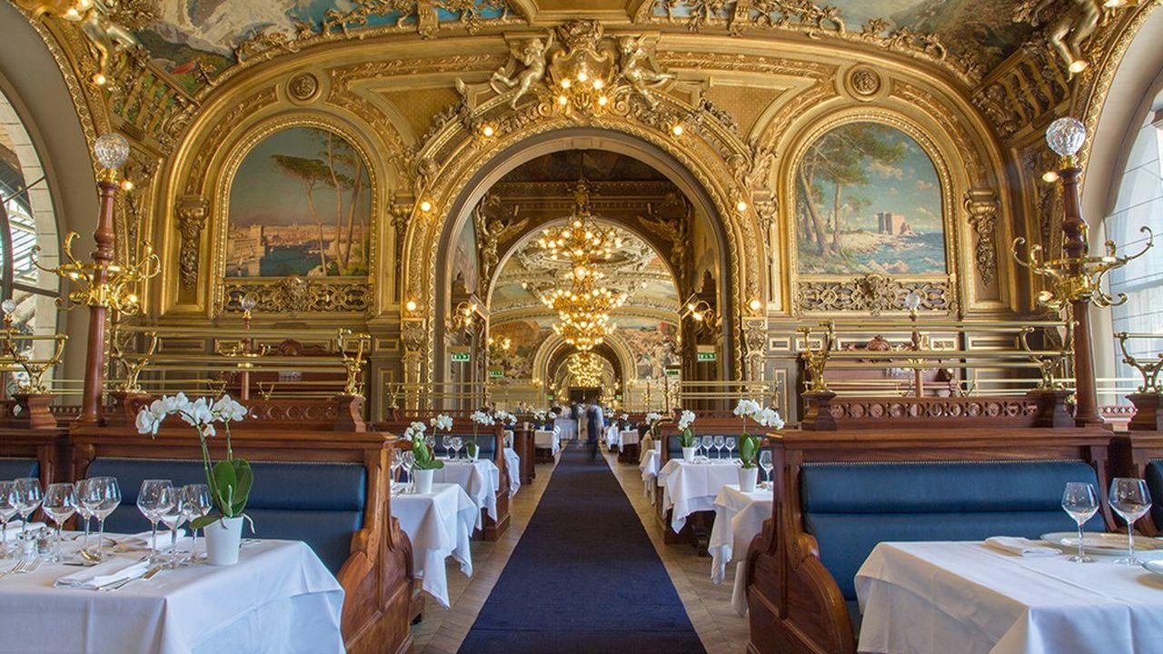 La nouvelle carte, confiée au chef Michel Rostang, s'inspire de la gastronomie des régions de la ligne PLM, Paris Lyon Marseille.