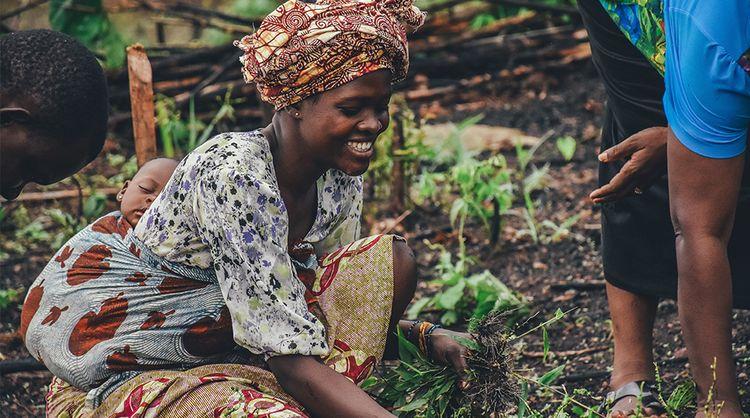 Soutenir la fondation  « Women In Africa », c'est soutenir les femmes pour un monde sans faim