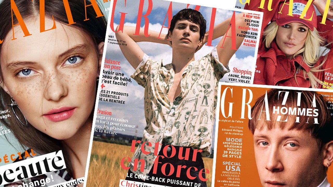 Selon nos informations, Reworld Media est entré en négociations exclusives avec Mondadori en vue du rachat de sa filiale française notamment éditrice du magazine «Grazia».