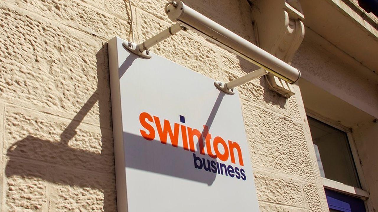 En 2017, le chiffre d'affaires de Swinton avait diminué de 30%, à 129millions d'euros.