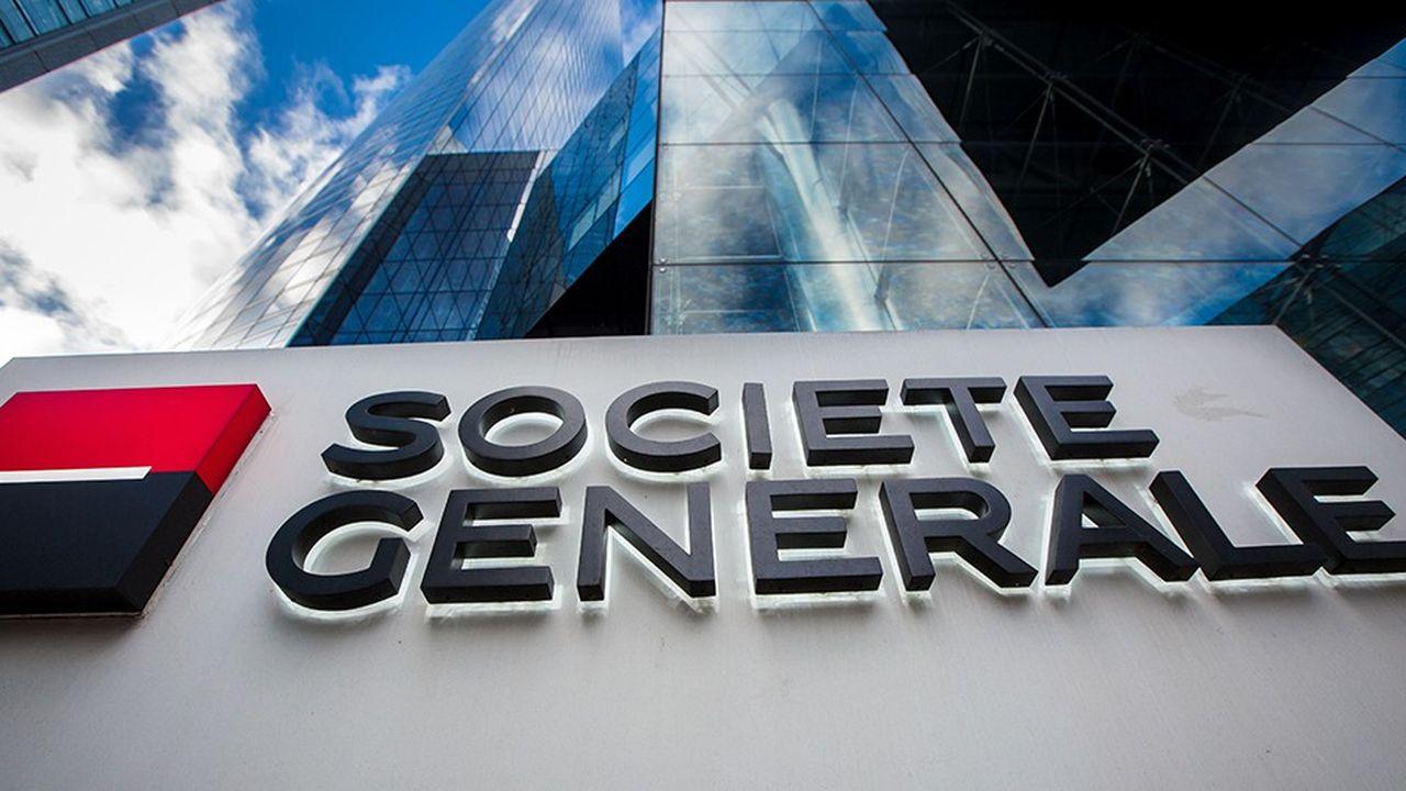Société Générale à La Déense.