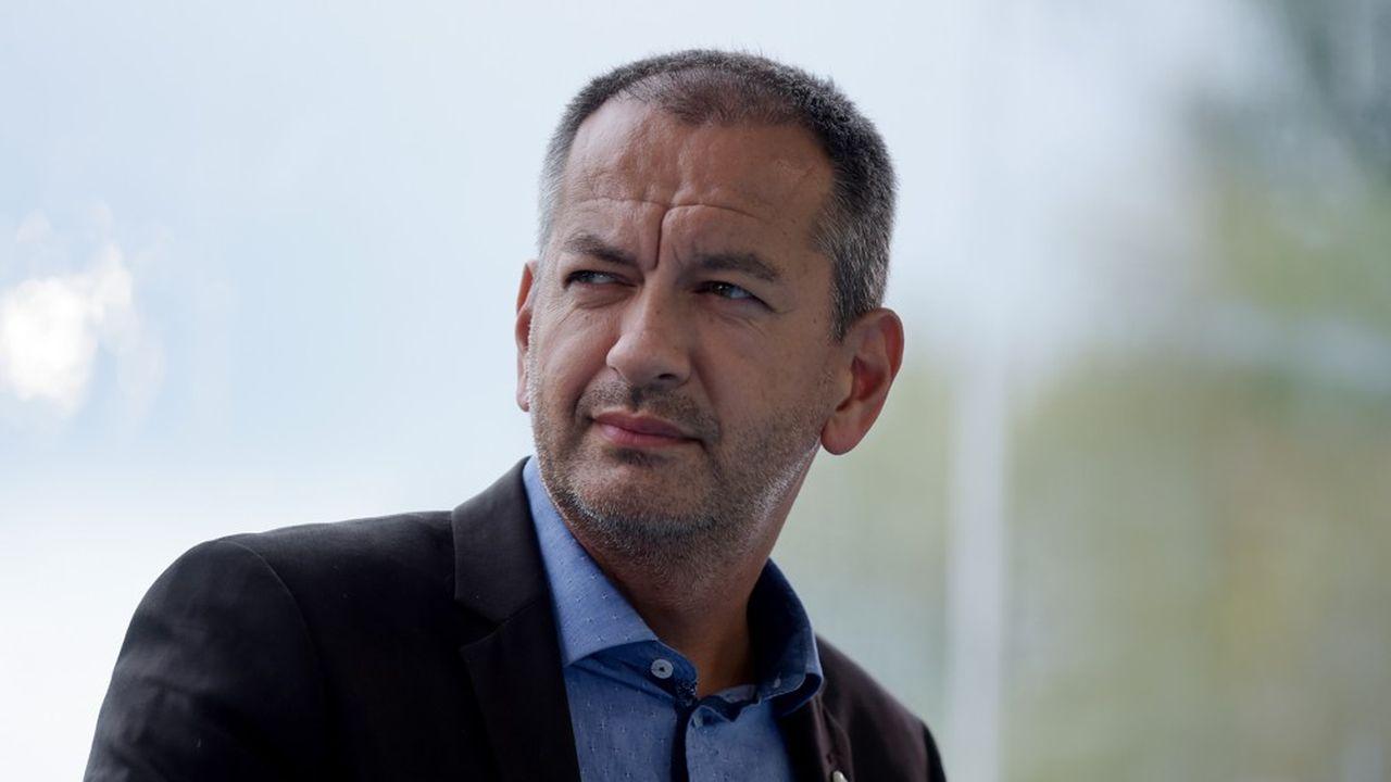Le nouveau secrétaire général de Force ouvrière, Pascal Pavageau. ERIC PIERMONT