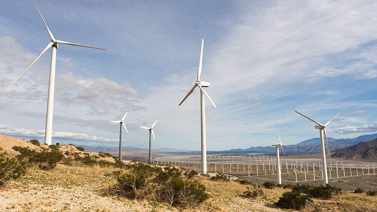 Les champs d'éoliennes en construction aux Etats-Unis représentent une capacité de plus de 19gigawatts, un record.