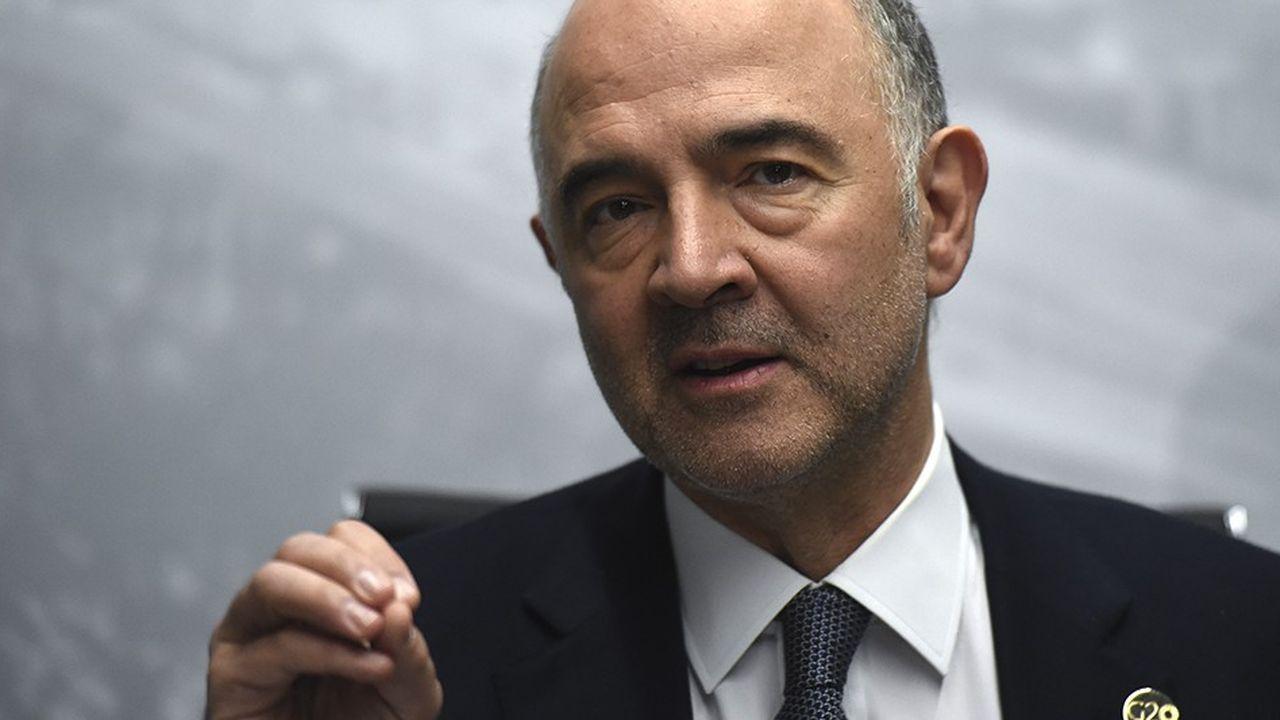 Pierre Moscovici, le commissaire européen aux affaires économiques